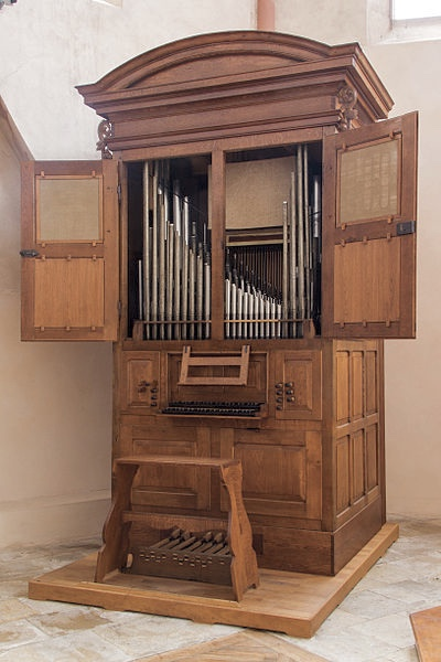 Orgue Silbermann Sainte Madeleine