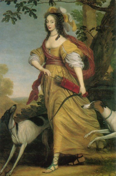 Louise Henriette van Nassau : Diana